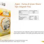 Aspen - Farina di Grano Tenero - Tipo Integrale Fina