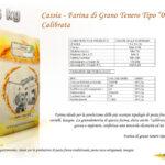 Cassia - Farina di Grano Tenero Tipo 00 - Calibrata