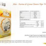 Aloe - Farina di Grano Tenero Tipo 0 E