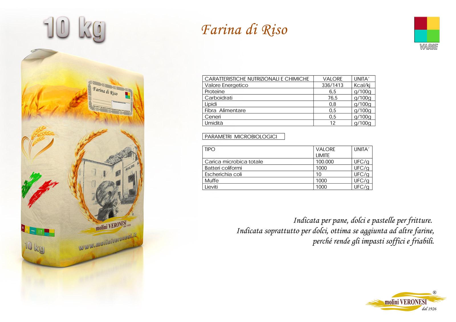 Farina di Riso 10 Kg